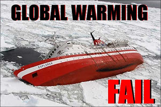 Global warming and Antarctic ice