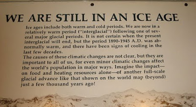 Smithsonian Natural History Museum: Global Cooling Exhibit Under Attack
