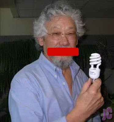 David Suzuki tries to hijack the Olympics